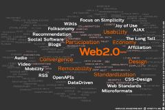 Mindmap Web 2.0 Memes von Markus Angermeier